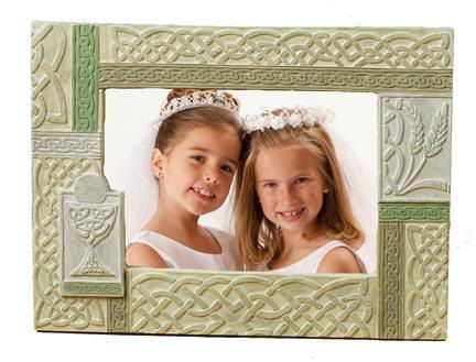 Celtic First Communion Frame*WHILE SUPPLIES LAST* first communion frame, first communion picture frame, resin frame, first communion gift, holy eucharist gift, boy gift, girl gift,irish frame, celtic frame