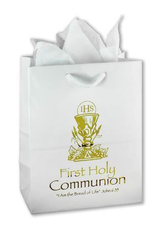 Chalice First Communion Gift Bag gift wrap, gift bag, first communion gift bag, eucharist gift bag, communion gift, eucharist gift,