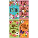 Spring Inspirational Assorted Mini Flags, Sold Each Assorted Styles