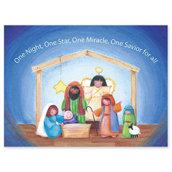 Child Nativity Boxed Christmas Card Child Nativity Boxed Christmas Card