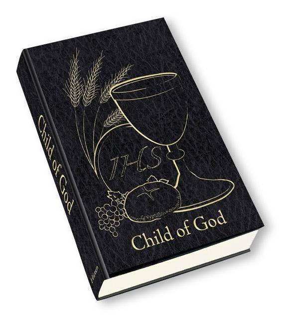 Child of God First Communion Prayer Book, Black