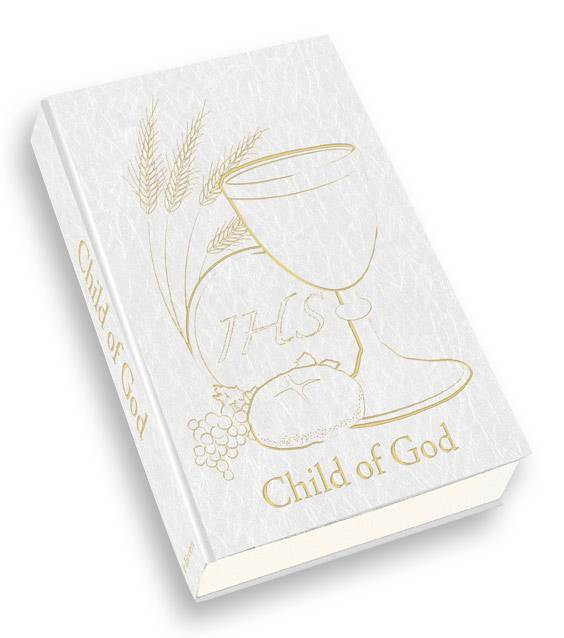 Child of God First Communion Prayer Book, White