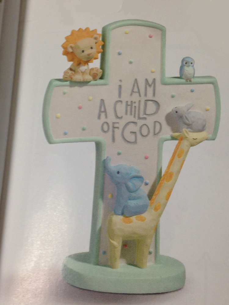Child of God Standing Cross