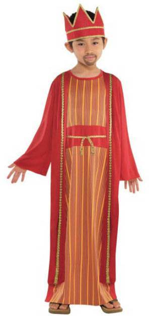 Childrens King Balthazar Nativity Costume