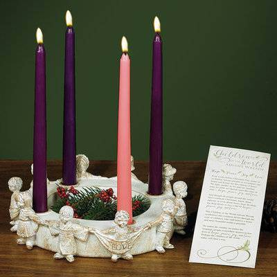 Children Of The World Advent Wreath*WHILE SUPPLIES LAST* Children Of The World Advent Wreath
