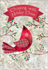 Chirping With Holiday Cheer Boxed Christmas Cards