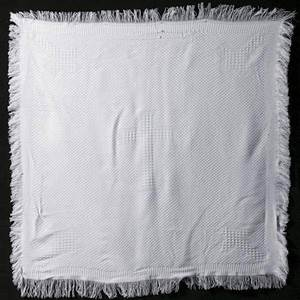 Christening Blanket with Cross