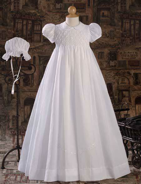 Christening Gown and Bonnet