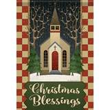 Christmas Blessing Garden Flag