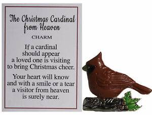Christmas Cardinal From Heaven Pocket Tokens