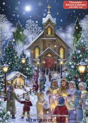 Christmas Eve Scene, Chocolate Advent Calendar