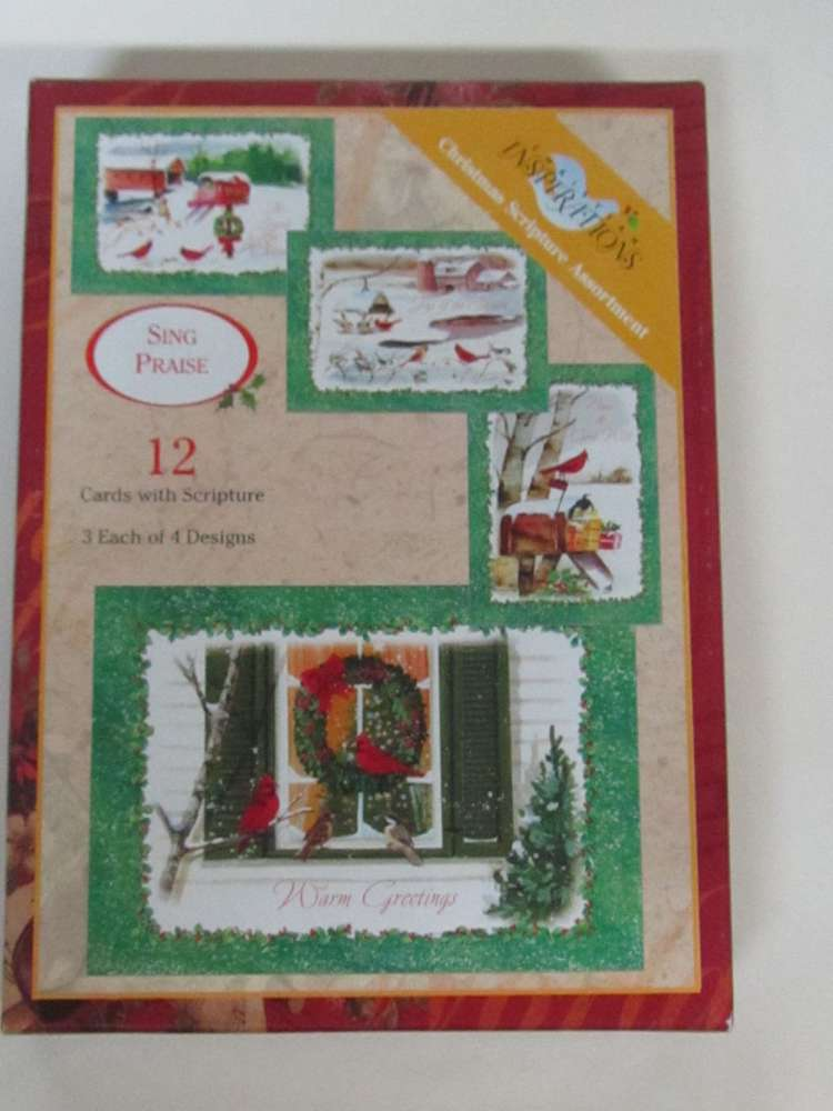 Christmas Inspirations Scripture Boxed Cards *WHILE THEY LAST*