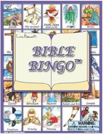Bible Bingo Game Set