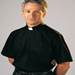 Classico Black Short Sleeve Clergy Shirt by Slabbinck