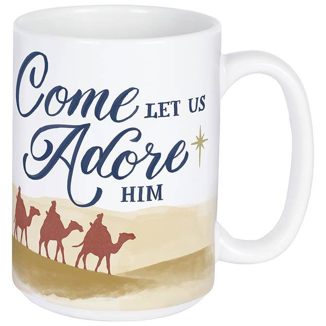 Come Let Us Adore Him Boxed Mug
