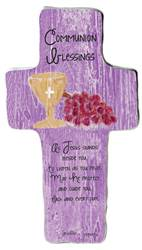 Communion Blessing Cross Plaque