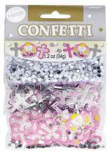 Communion Confetti Pack Pink