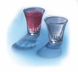 "Communion Cups Glass 1.5"" 20 Per Pack"