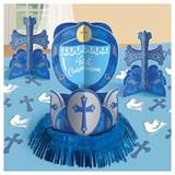 Communion Day Blue Table Decorating Kit
