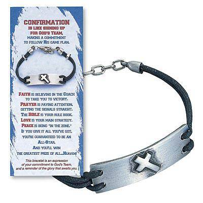 Confirmation Bracelet and Card