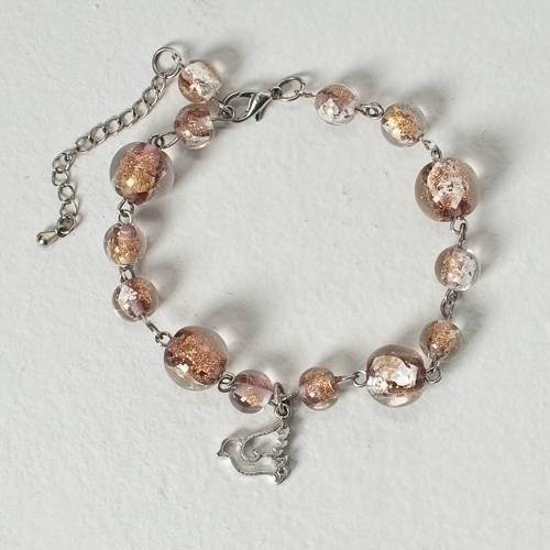 Confirmation Glass Bracelet