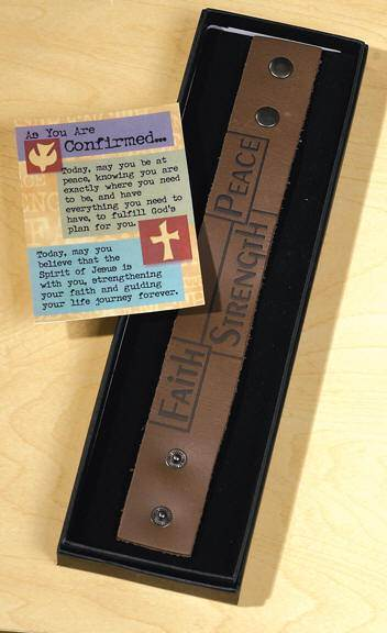 Confirmation Leather Band Bracelet*WHILE SUPPLIES LAST*