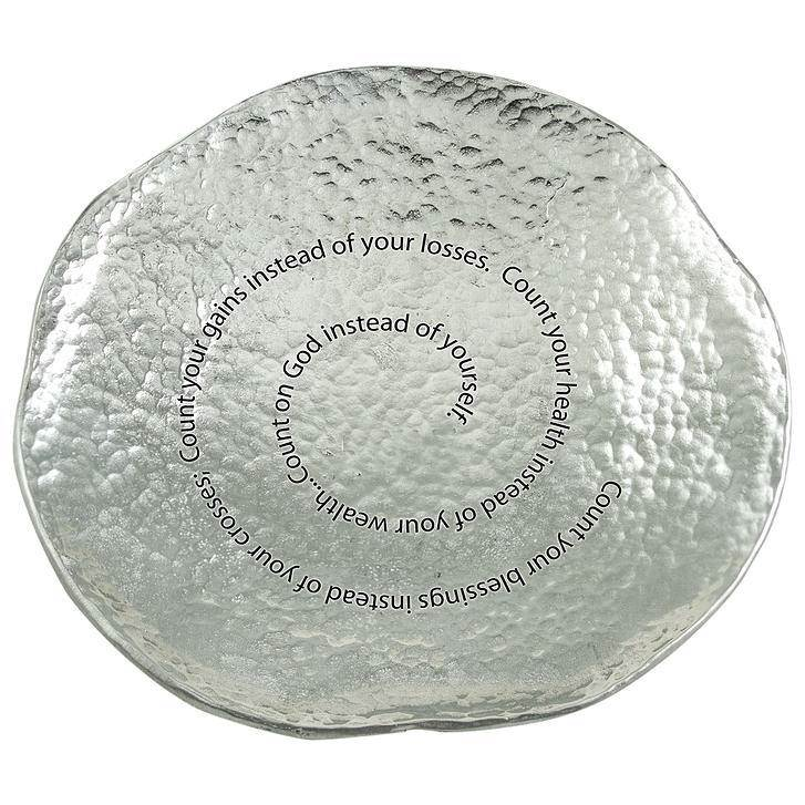 Count Your Blessings Jewelry Dish