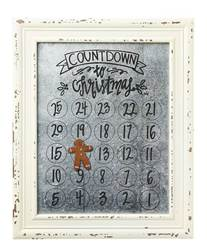 Countdown to Christmas Magnetic Calendar *WHILE SUPPLIES LAST*
