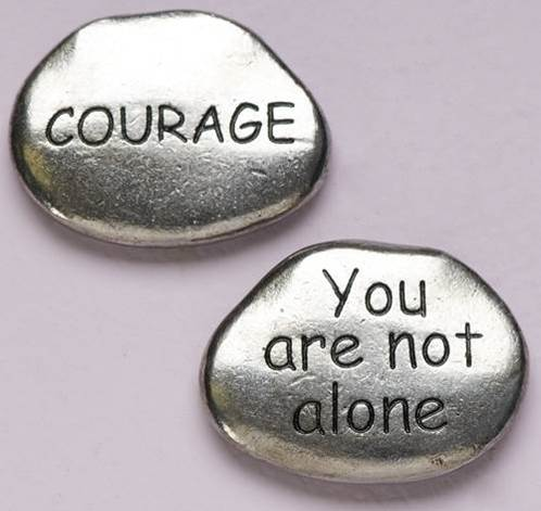 Courage Pocket Token, PACK OF 100