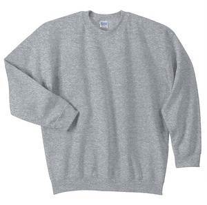 Crewneck Sweatshirt, Heather Grey