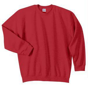 Crewneck Sweatshirt, Red
