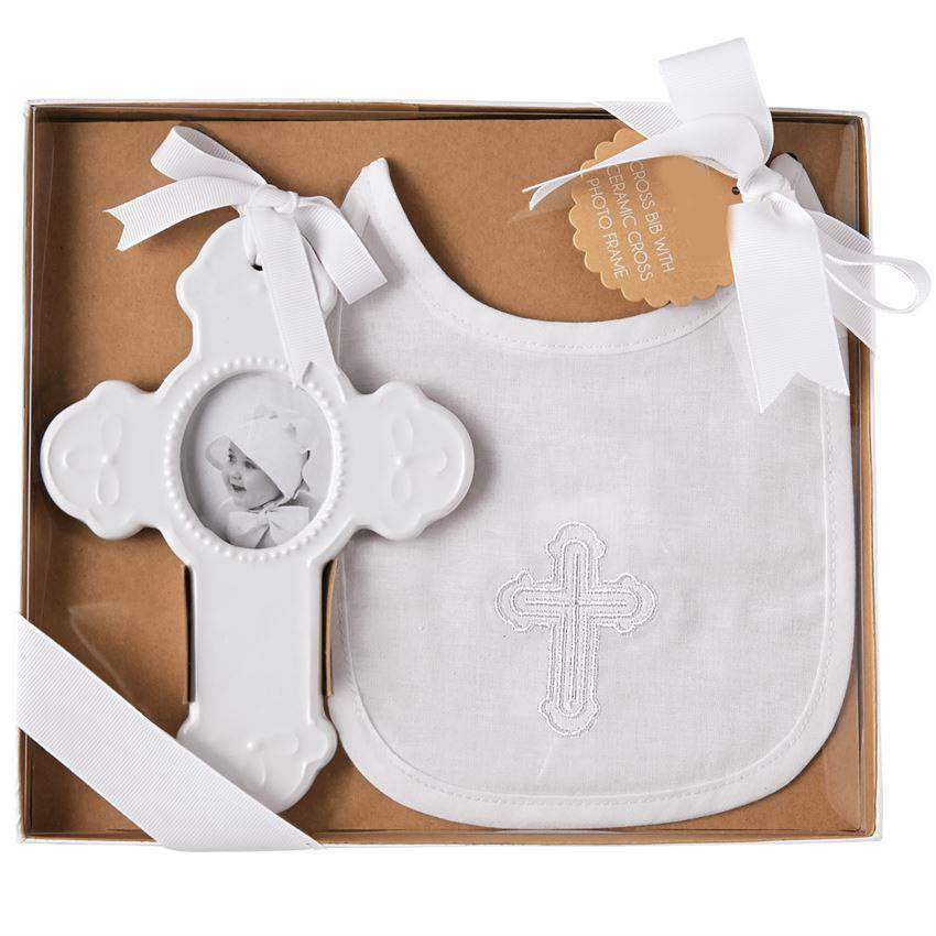 Cross and Bib Gift Set