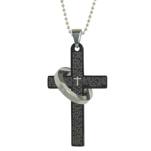 Cross with Ring Necklace *WHILE SUPPLIES LAST*