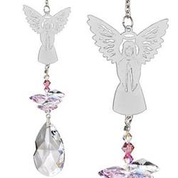 Crystal Angel Suncatcher