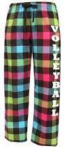 Custom Flannel PJ Pants w/School Name - PTSPIRITPJ