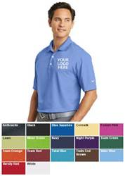 Custom Nike Golf Shirt- Personalized with Your Logo on Left Chest spirit wear, spiritwear, school spirit gear, nike shirts, nike polo shirts, school polo shirts, logo headbands, school bookstore items, school accessories, custom school spiritwear, custom school gift items, custom school spirit wear