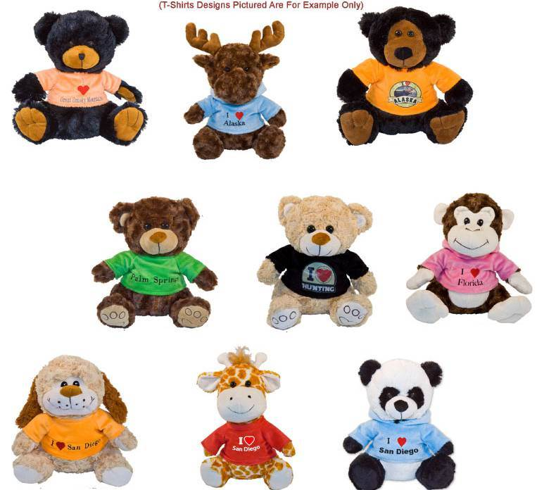 "Custom 10"" Stuffed Animals  - CS138"