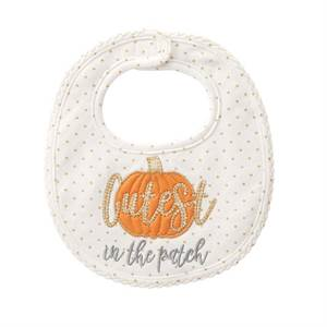Cutest Pumpkin the the Patch Bib