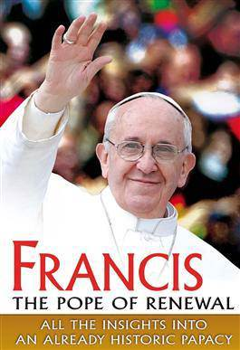 DVD-Francis The Pope Of Renewal pope francis, francis dvd, papal dvd, pope francis movie, about pope francis