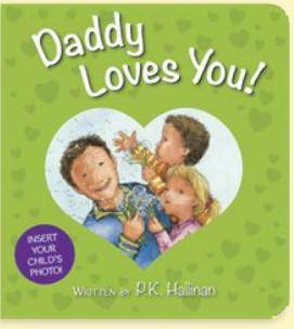 Daddy Loves You! kids book, board book, prayer book, nighttime book, childrens book, daddy book, parent book, 97808249189652