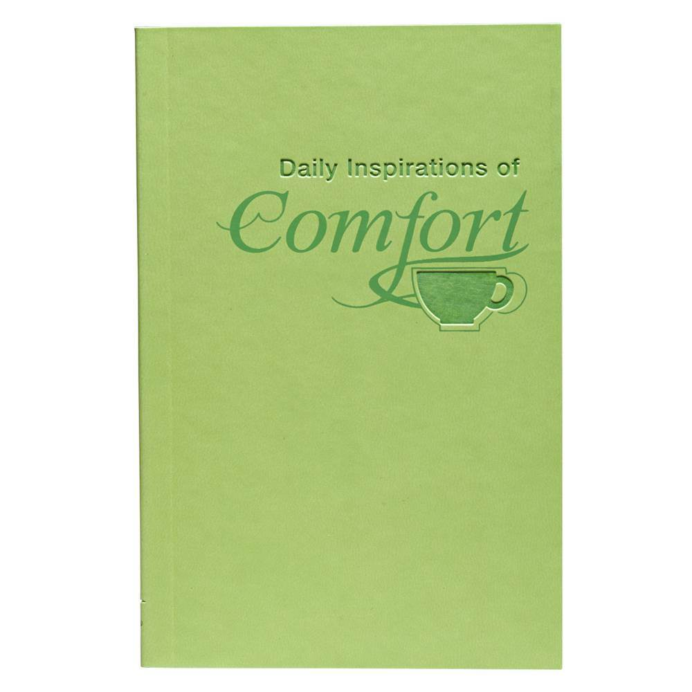 Daily Inspirations of Comfort book, prayer book, religious book, sacramental gift, lit045