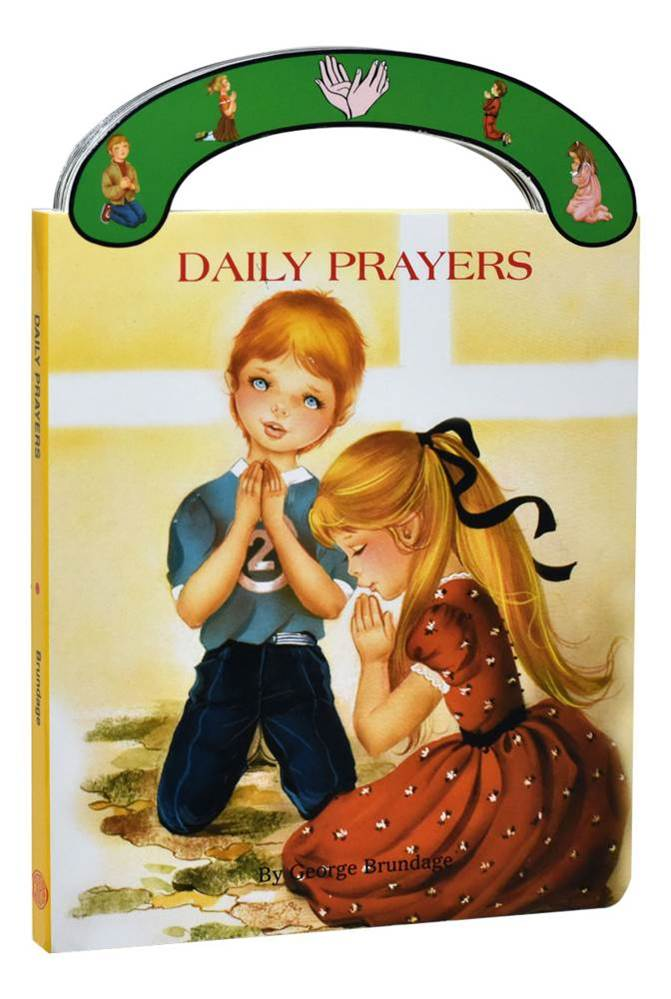 "Daily Prayers St. Joseph ""Carry-Me-Along"" Board Book Ideal book for young children. A sturdy book that will stand up to wear and tear, it provides clear, simple text to introduce children to prayers for every day."