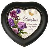 Daughter, Make My Heart Smile Heart Music Box