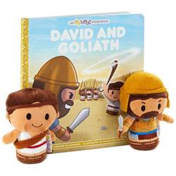 David and Goliath itty bittys Book Bundle