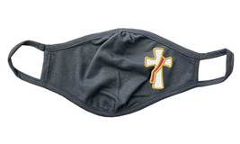 Deacon Face Mask with Embroidered Cross