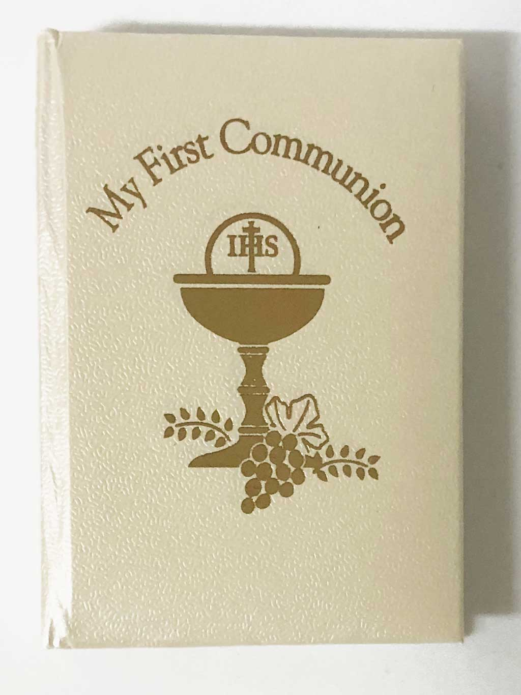 Deluxe Pearlized White First Communion Missal
