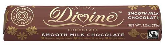 Divine Milk Chocolate Candy Bar