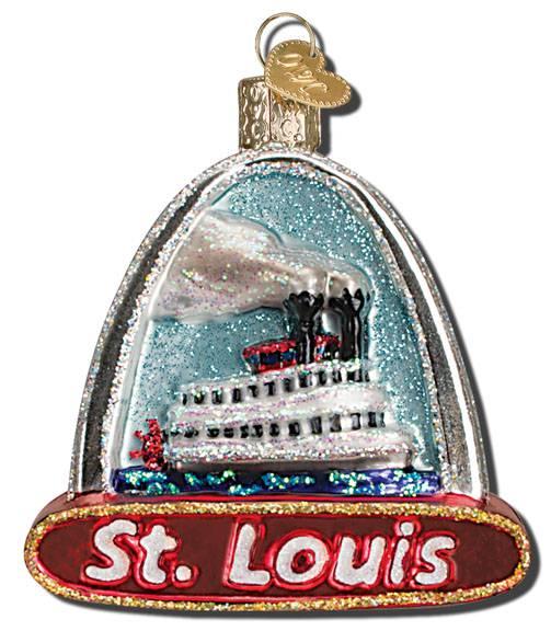 Home Decor St Louis Mo: St. Louis Arch Glass Ornament
