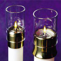 Draft Protectors for Lux Mundi Refillable Oil Candles or Candle Shells