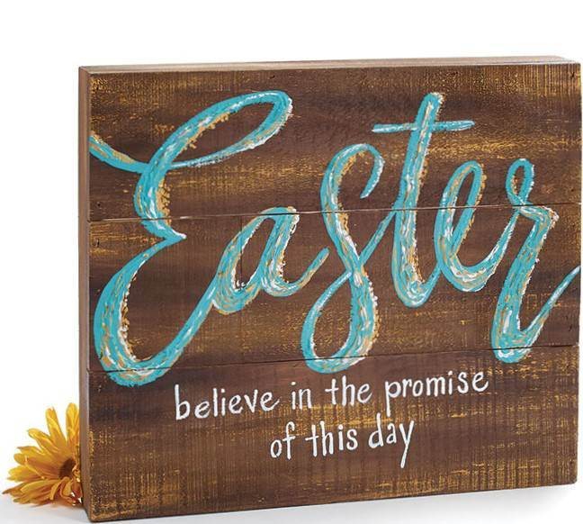 Easter Shelf Plaque